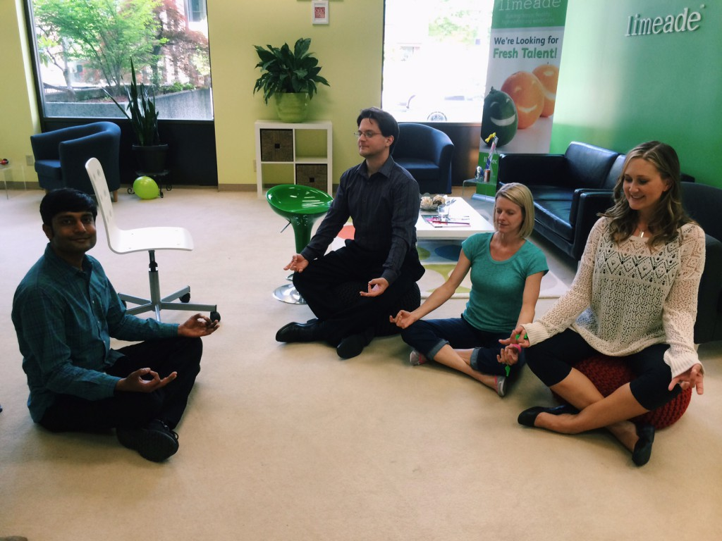 meditation 1024x768 - Employee health & fitness day at Limeade