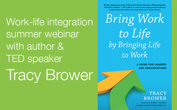 Work-life integration webinar