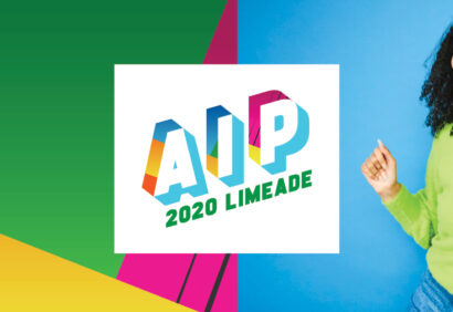 Limeade AIP virtual employee conference logo