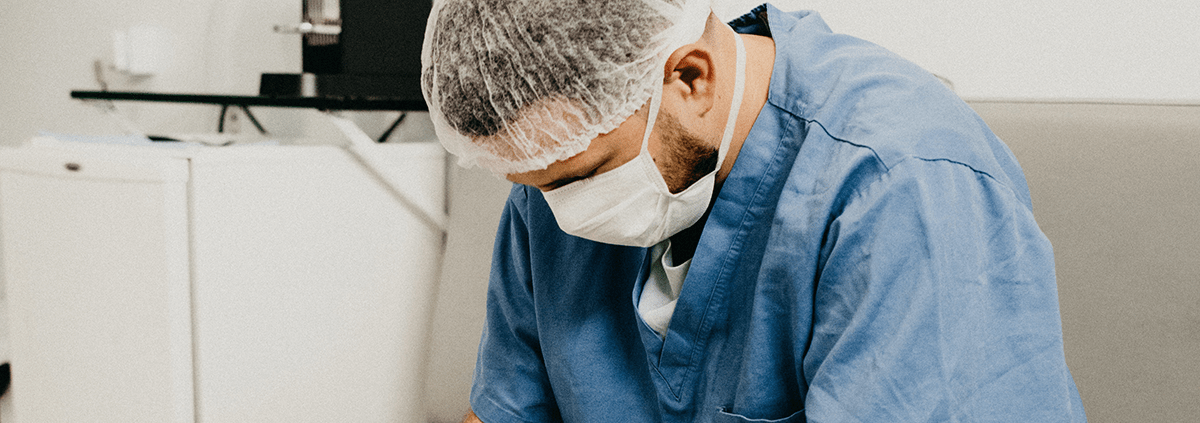physician experiencing employee burnout